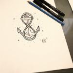 tatuaje-ancla-boceto-previo